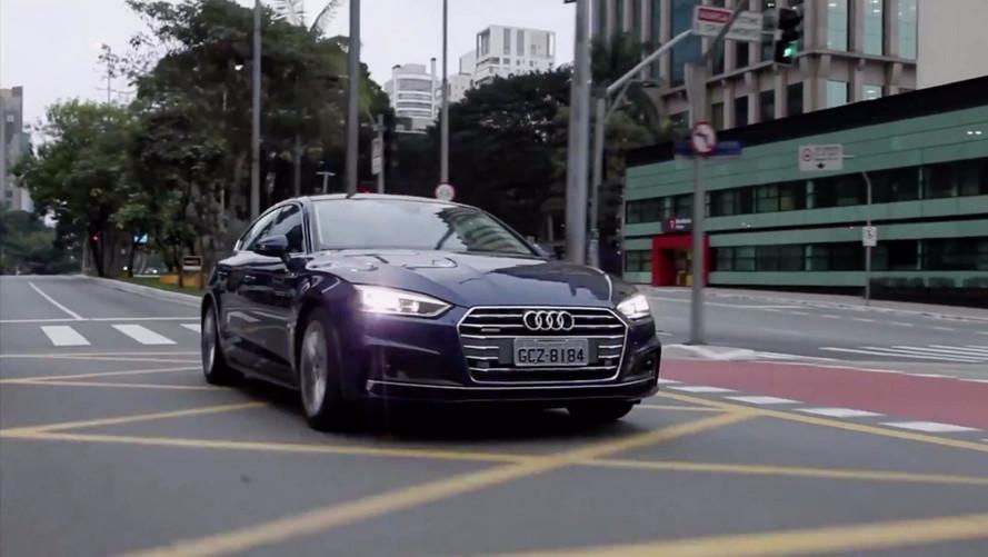 Vídeo - Conheça o novo Audi A5 2018, o cupê que se dirige sozinho