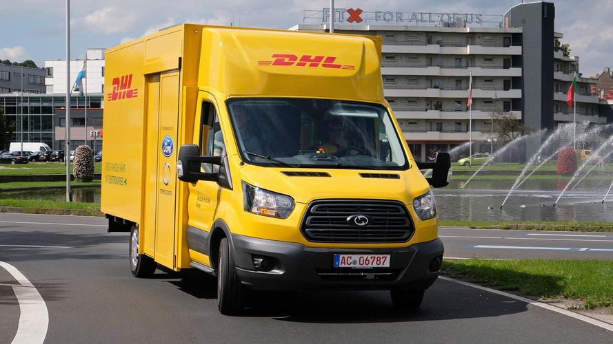 Ford, DHL Reveal Streetscooter XL Electric Delivery Van