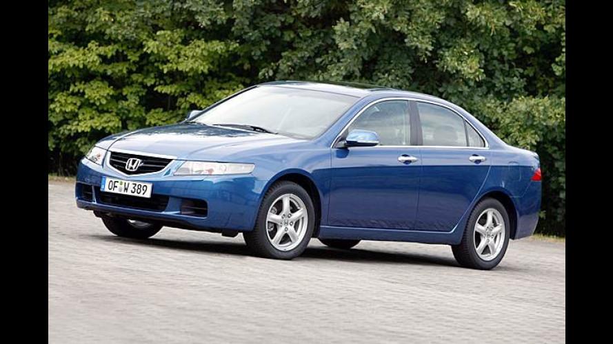 Honda: Dieselantrieb arbeitet im Accord sparsam und schnell