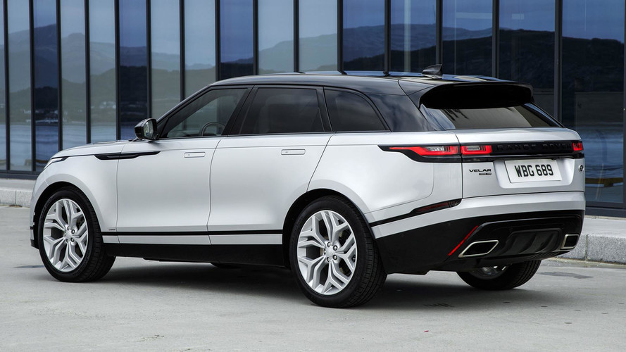 2018 land rover range rover velar first drive two directions at once. Black Bedroom Furniture Sets. Home Design Ideas