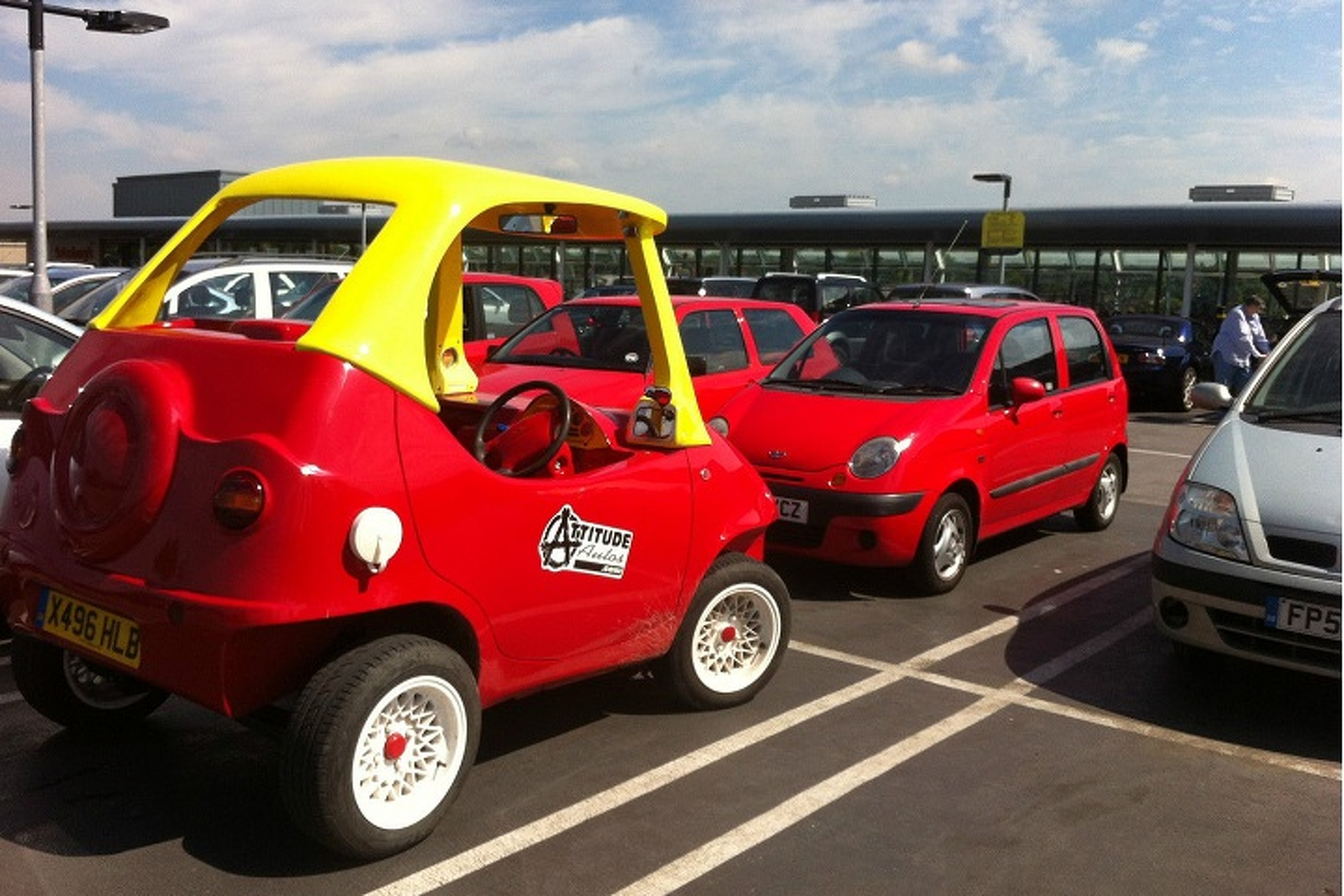 Your Childhood Is Telling You To Buy This Real-Life Cozy Coupe