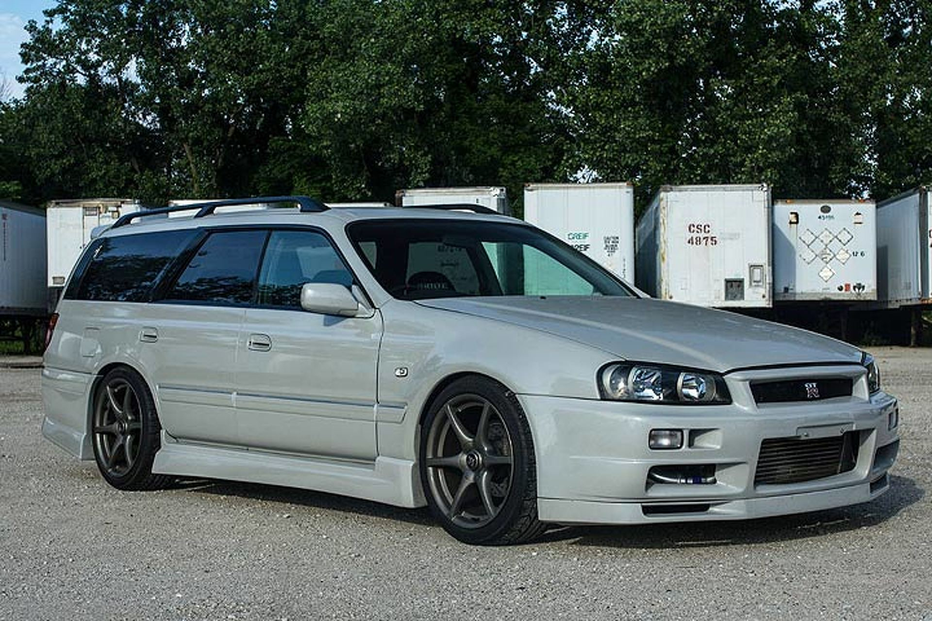 it's real! this nissan gt-r wagon is wild and for  in the usa