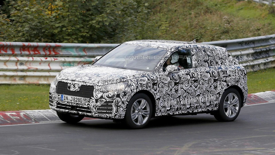 Audi Q2 spied on the Nurburgring ahead of 2016 launch (24 pics)