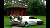 Volkswagen Aqua Concept by Yuhan Zhang