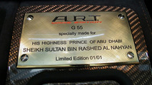 A.R.T AS55K YAAS EDITION - Limited to one for Royal Family of Abu Dhabi