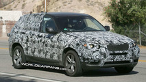 New BMW X3 Testing in Death Valley