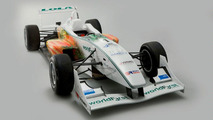 Lola B05/30 F3 racecar prototype with biodiesel engine