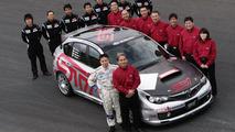 Team STI group photograph on Shakedow