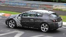 2012 Opel Astra GTC / OPC three-door spy photos, Nurburgring Nordschleife, Germany, 17.08.2010