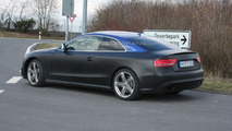 Audi RS5 spy photos near Nurburgring