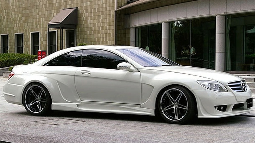 Mercedes CL Widebody Kit by VITT Performance