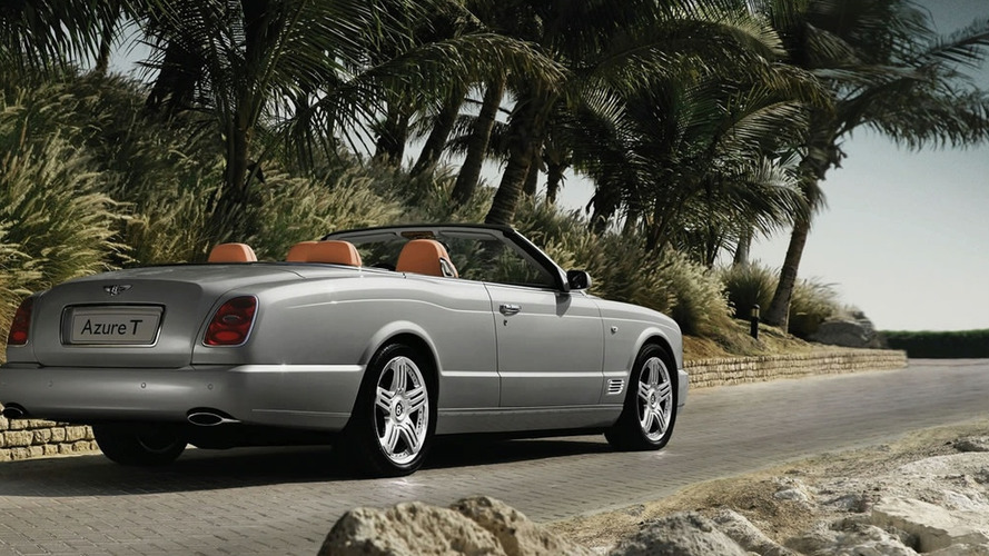 Bentley Azure T Revealed Ahead of L.A. Show Debut