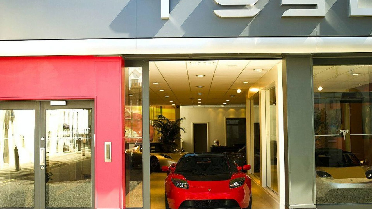 Tesla Motors London showroom
