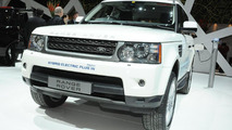 Land Rover Range_e plug-in hybrid debuts in Geneva [video]