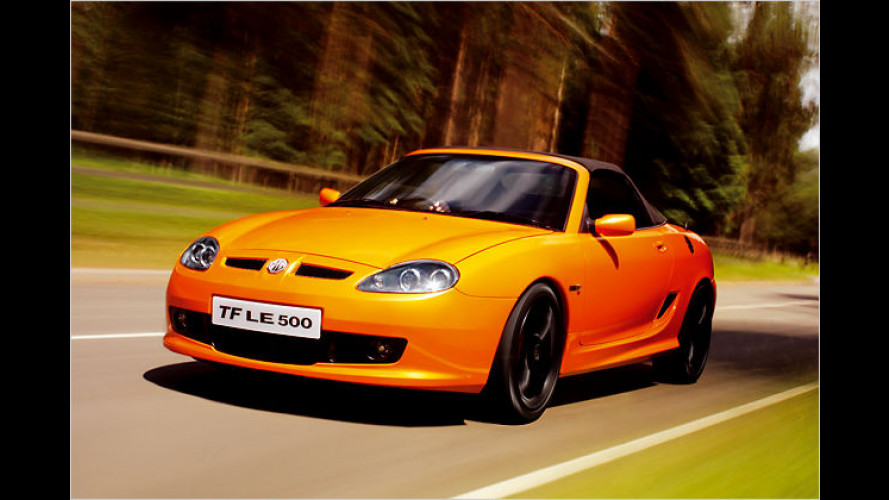 MG TF LE500: Comeback einer britischen Traditionsmarke