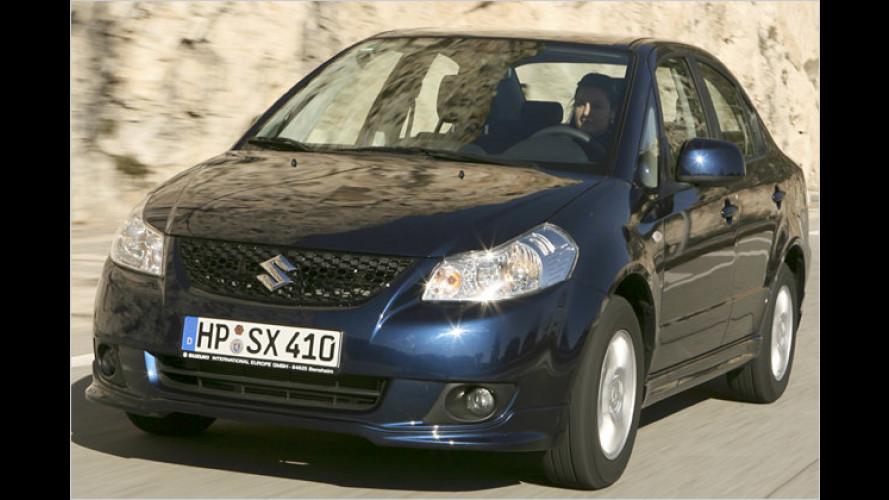 Suzuki SX4 Limousine: Es muss nicht immer Kombi sein