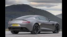 Mehr Dynamik für Aston Martin Vanquish und Rapide S 2015
