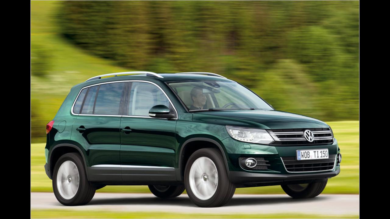 VW Tiguan 2.0 TDI: - 8,4 Prozent