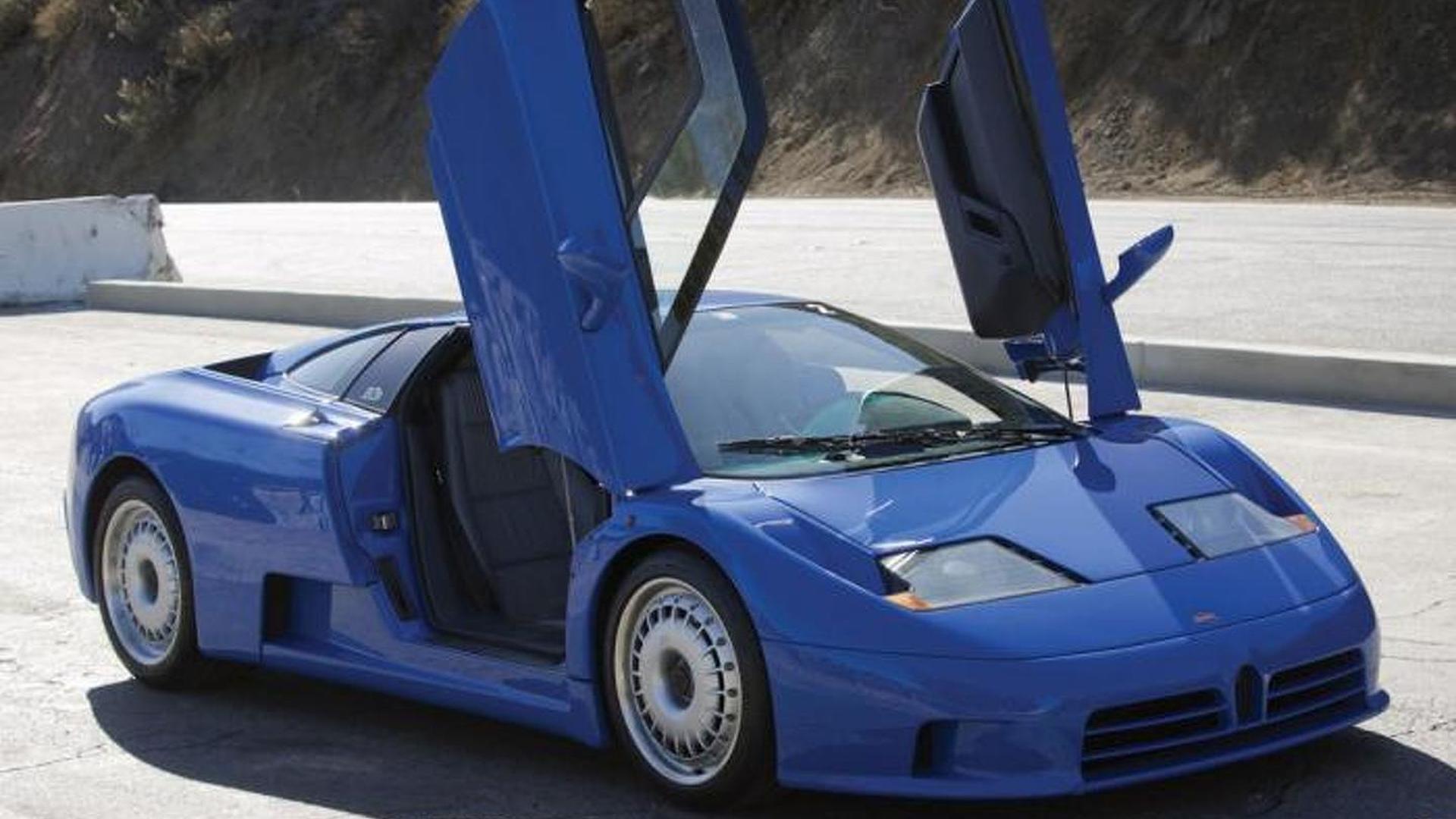 Двери гильотины Bugatti EB110 GT