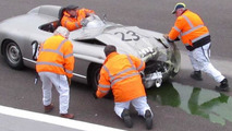Mercedes-Benz 300SLS crashed at Goodwood