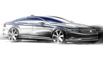2015 Volkswagen Passat design sketch