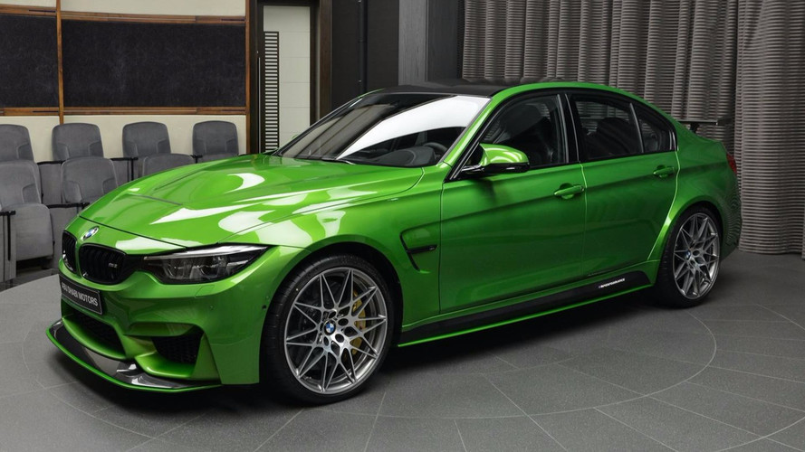 Descubre el BMW M3 2018 más impresionante
