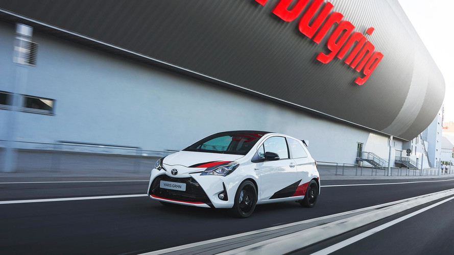 Buy Toyota's New Yaris Hot Hatch For £299 A Month