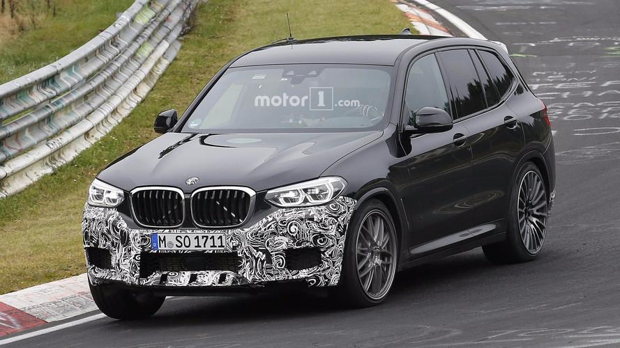 BMW X3 M 2018, vídeo espía en Nürburgring