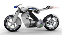BMW iR Concept as sketched by Curtiss designer Jordan Cornille