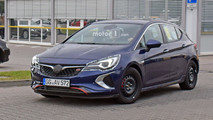 2018 Vauxhall Astra GSi spy photo