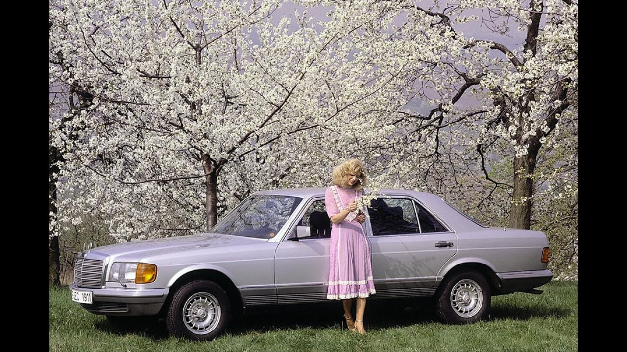 1979: Mercedes S-Klasse (W 126)