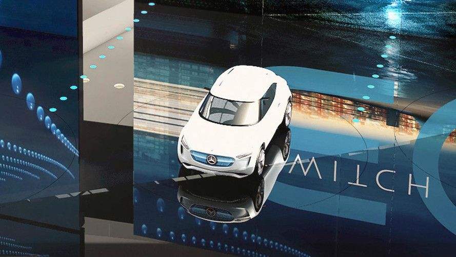 Mercedes EQ konseptinin teaser'ı Vision G-Code izleri taşıyor