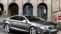 Audi A7 artist rendering