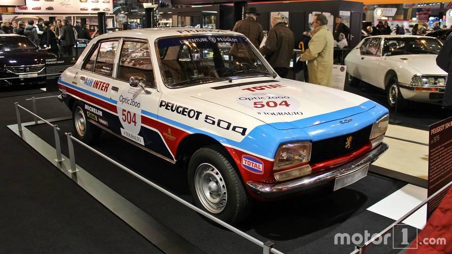 PHOTOS - Peugeot au Salon Rétromobile 2018