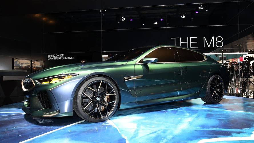 BMW Concept M8 Gran Coupe Previews Stunningly Proportioned Sedan