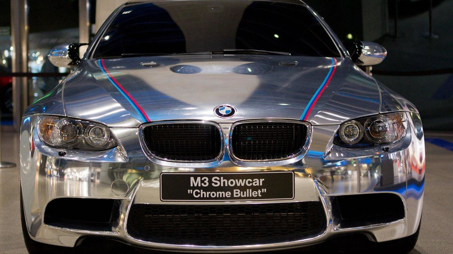 Meet the BMW M3 Coupe Chrome Bullet