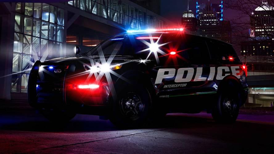 Ford's Hybrid Police Interceptor Offers Glimpse Of All-New Explorer