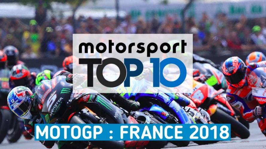 VIDÉO - Le Top 10 du Grand Prix de France 2018 !