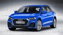 Render Audi A1 2018