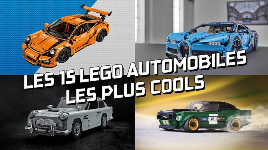DIAPORAMA - Les 15 Legos automobiles les plus cools