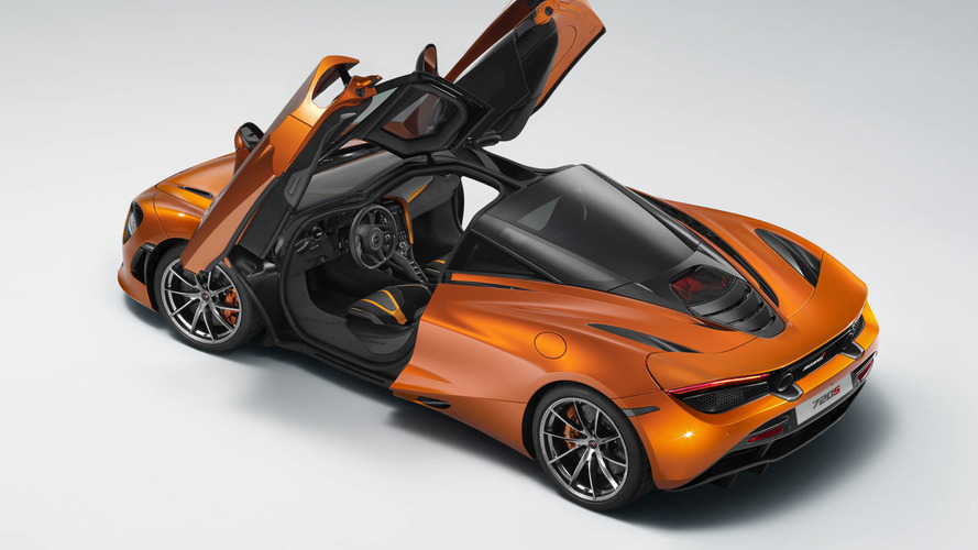 McLaren 720S leaked official image