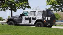 Jeep Wrangler Spy Photos