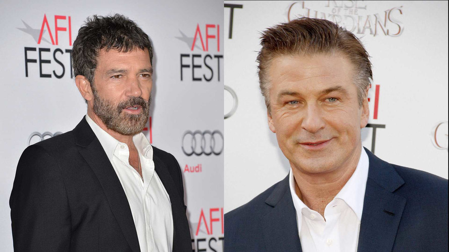 Banderas ve Baldwin, Lamborghini ve Ferrari'nin biyografisinde oynayacak