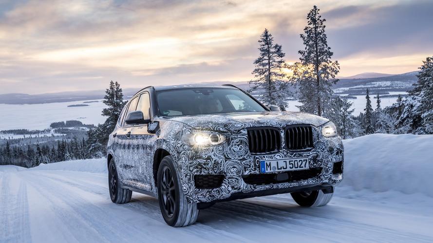 El BMW X3 2017 debutará el 26 de junio