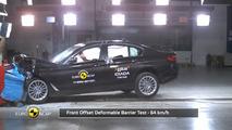 Euro NCAP BMW 5-ös sorozat törésteszt