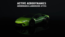 Aereodinamica Lamborghini Attiva Performante tanıtım videosu