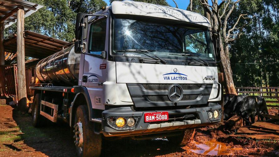 Mercedes-Benz Milk Truck