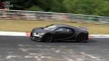 Bugatti Chiron at the Nurburgring