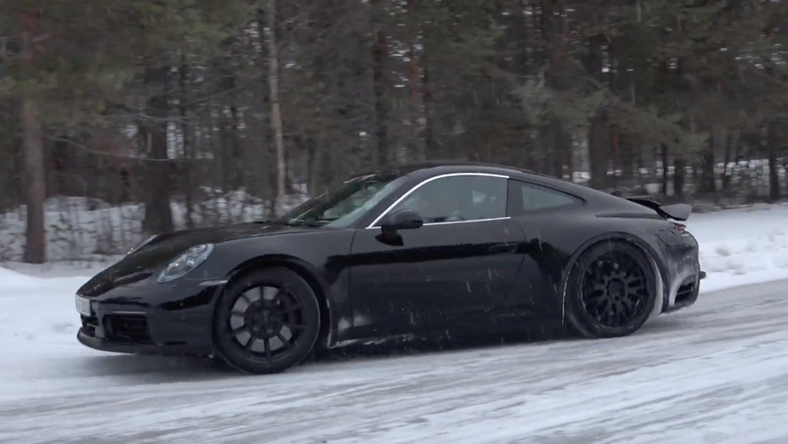 Porsche 911 Prototype Video