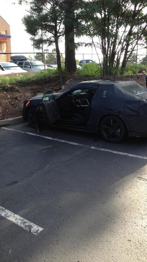 2015 Ford Mustang spied in Arizona